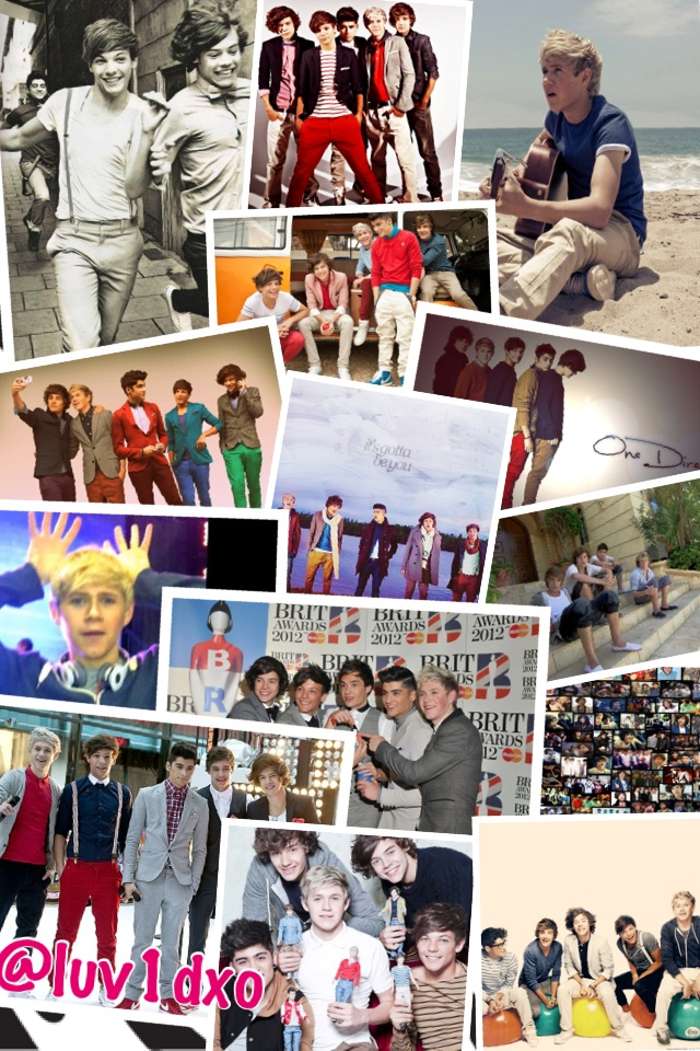 @onedirection collage...more tocone