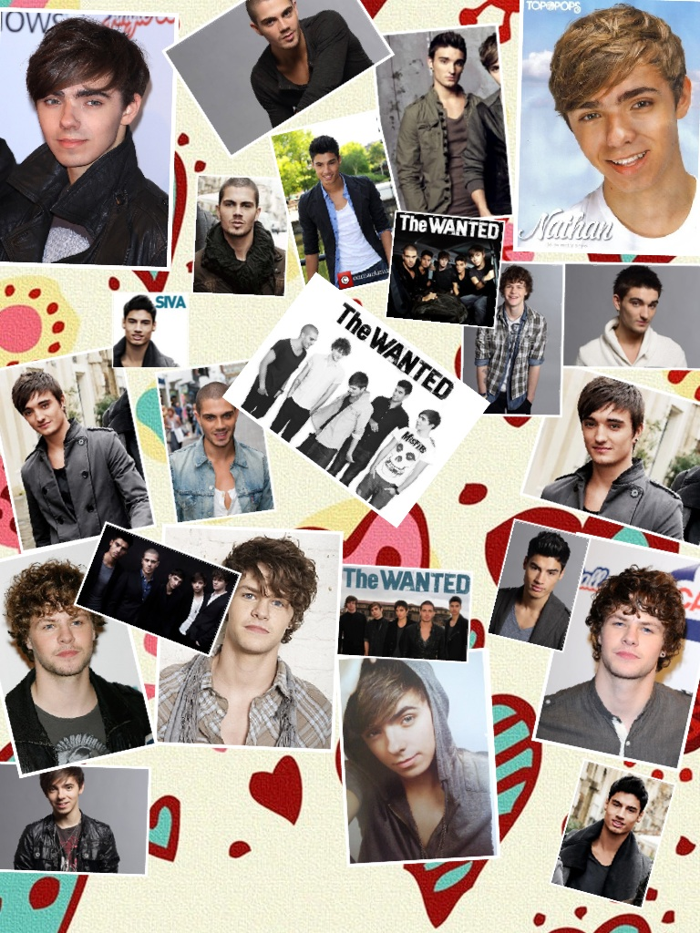 I L&lt;3VE THE WANTED!!!!!!!!!!!!!!!!!