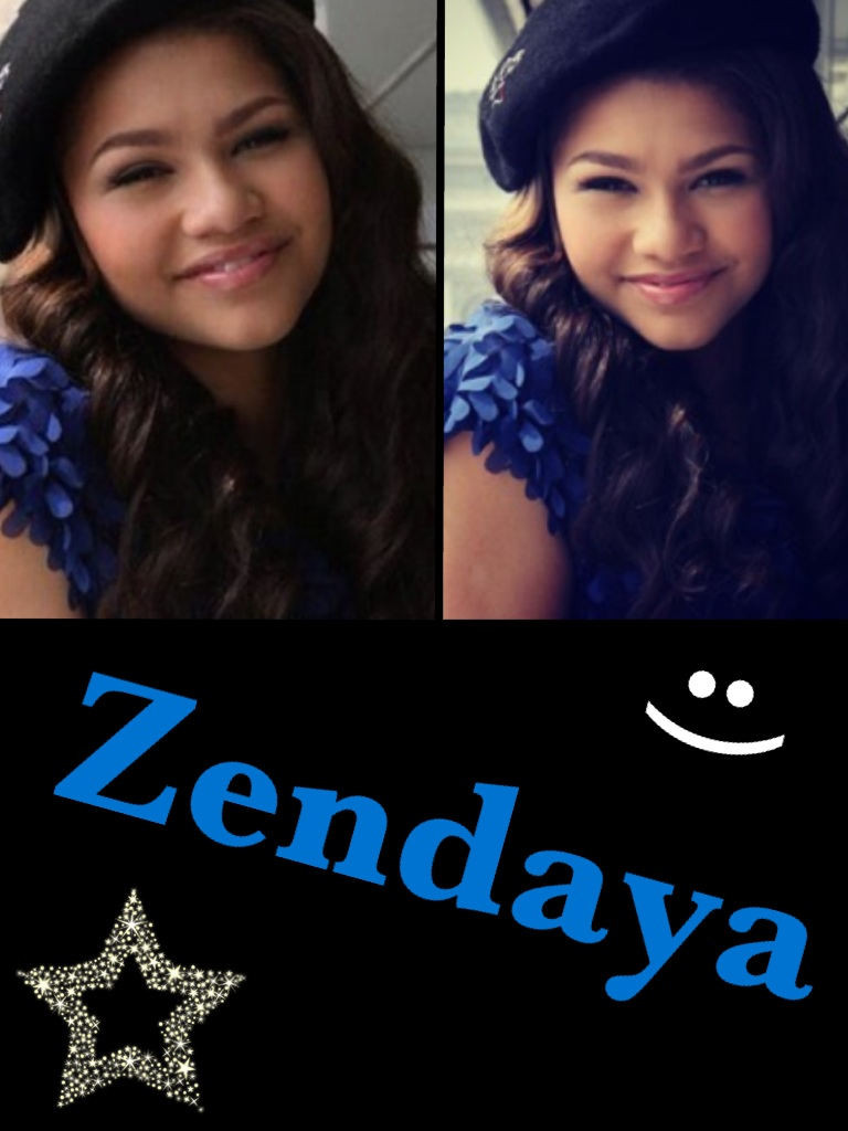 Here&#x27;s a @Zendaya96 collage :)