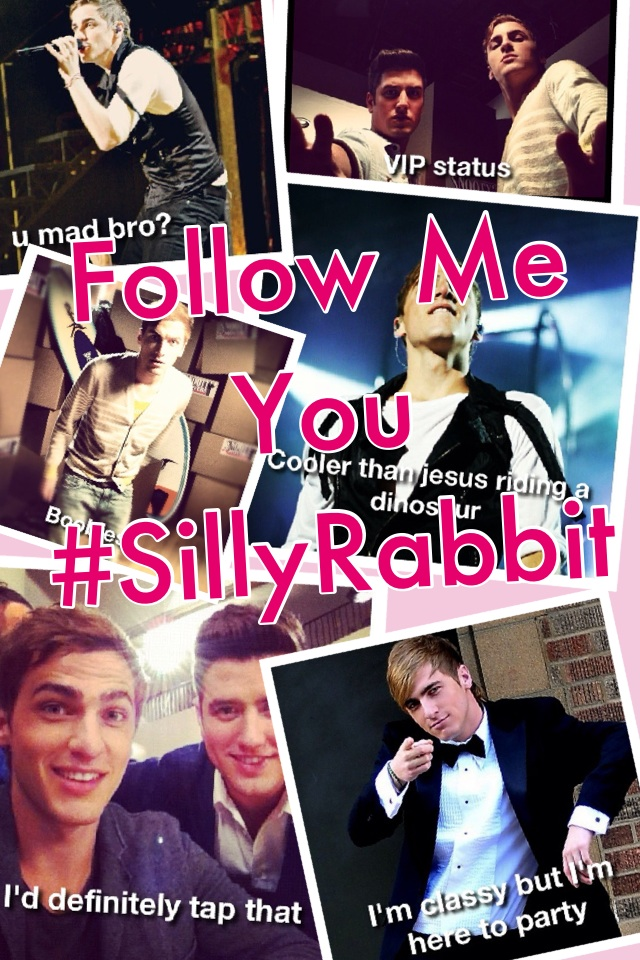 Follow Me @HeffronDrive !!! #SillyRabbit 