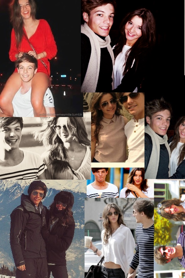 Louis and Eleanor ate an adorable couple(: