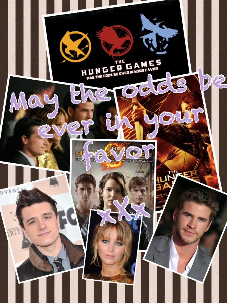 THE HUNGER GAMES xx:)