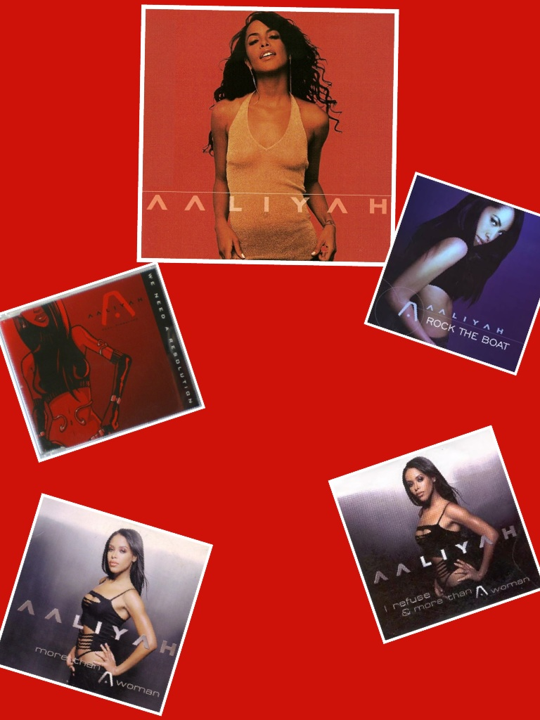Aaliyah Self-Titled Album (2001)