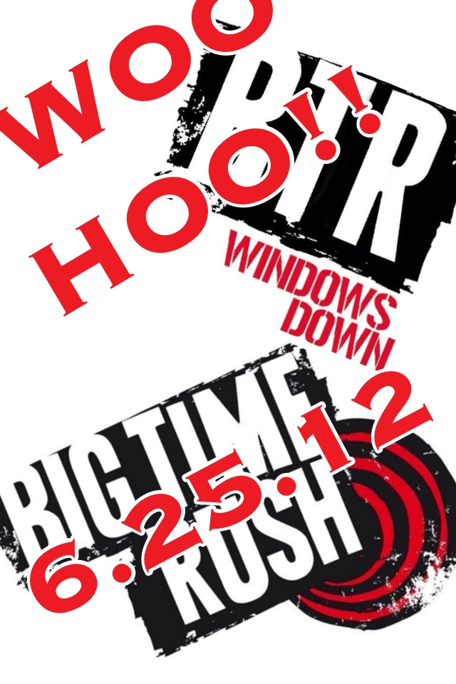 BTR Windows Down!! WOO HOO!!!!