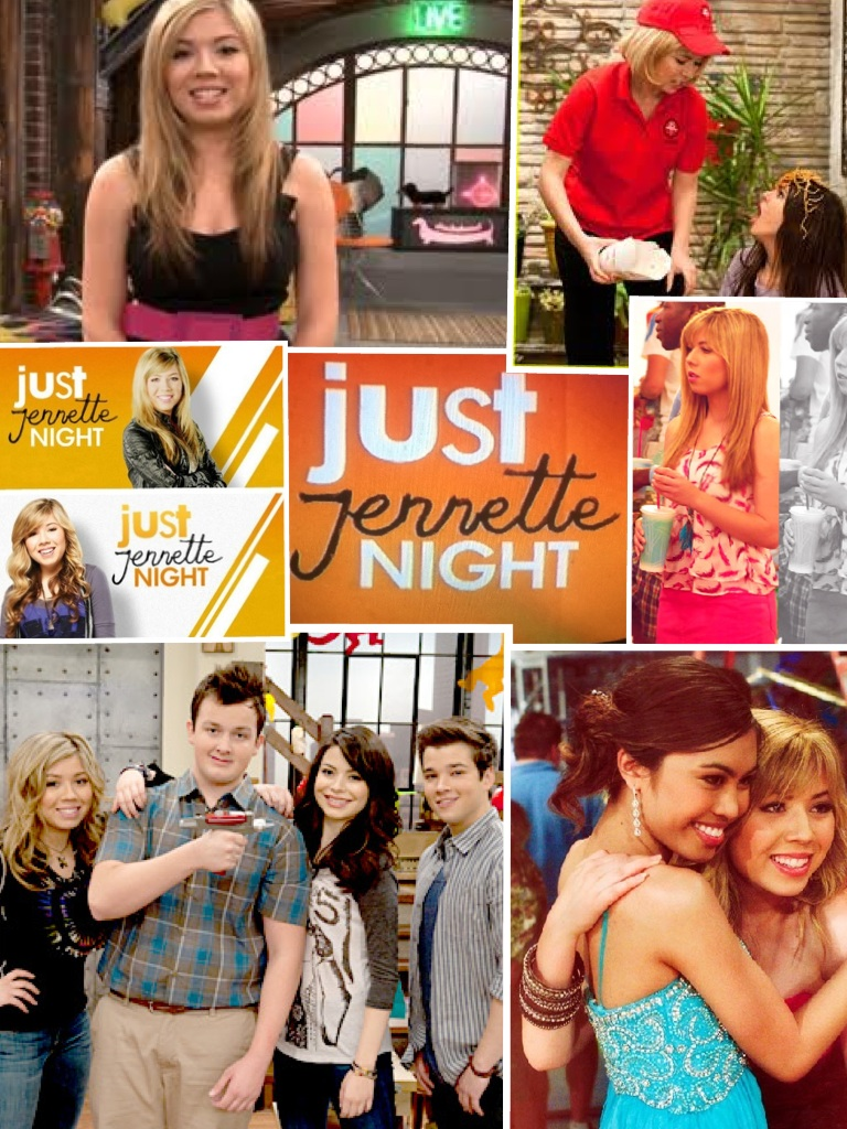 My Just Jennette Night collage!! :)