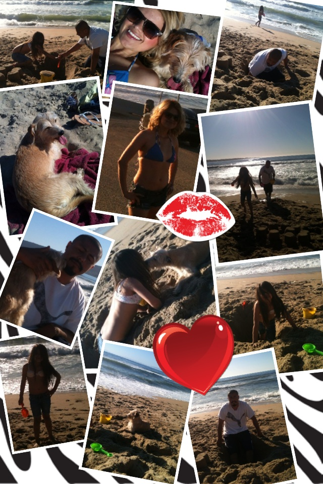 Our last day together 😪 Marina Beach CA