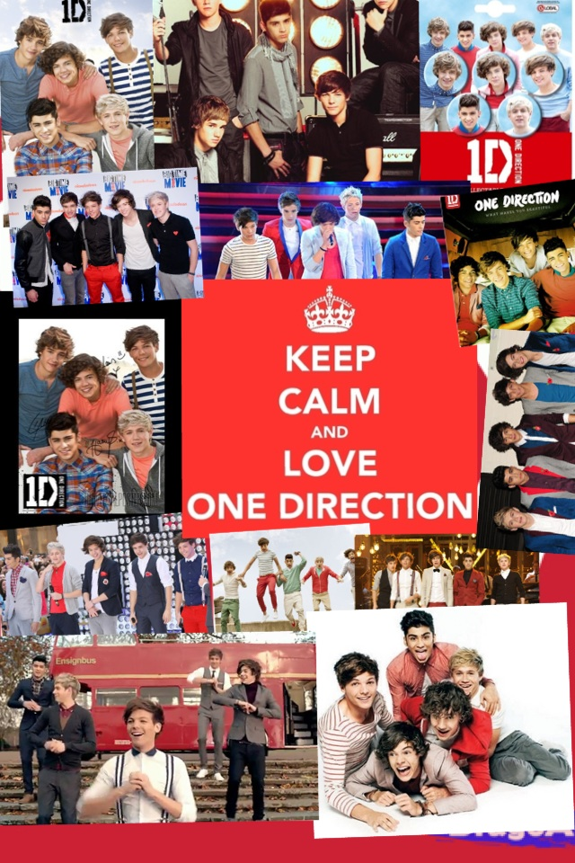 keep calm & love one direction