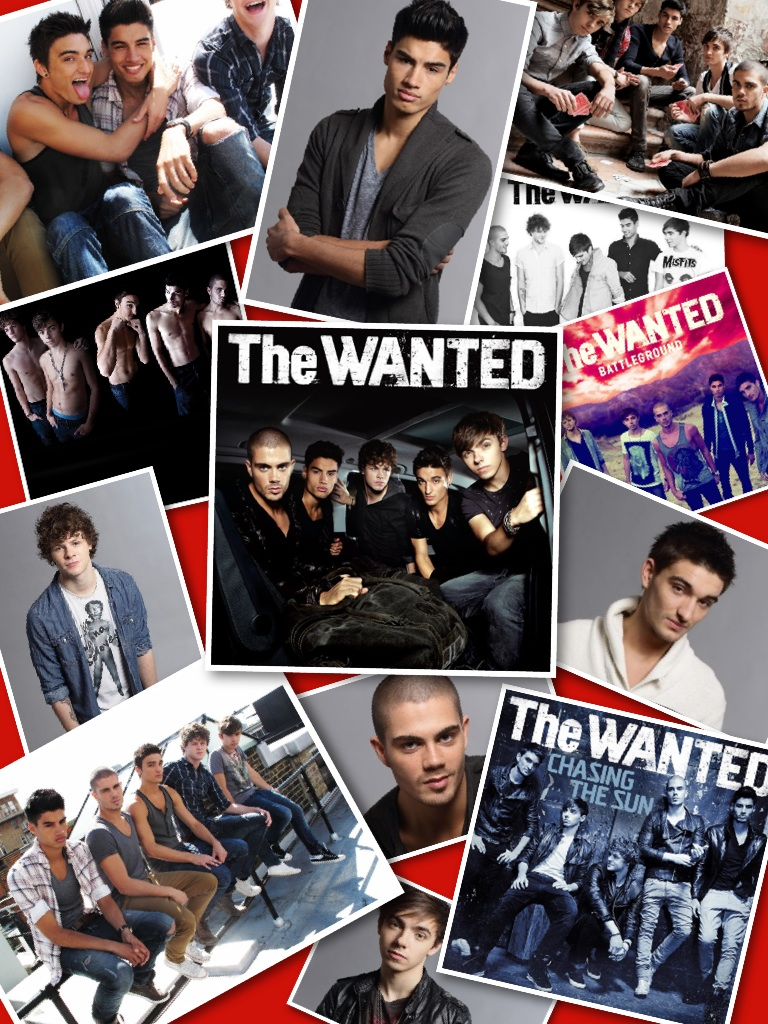 I LOVE THE WANTED!!!!!!!