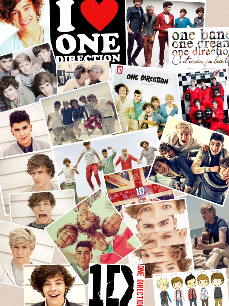 I love my One Direction boys :) <3