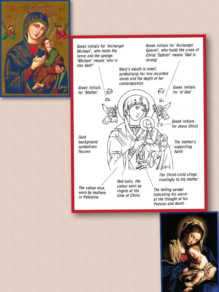 MOTHER OF  PERPETUAL HELP.