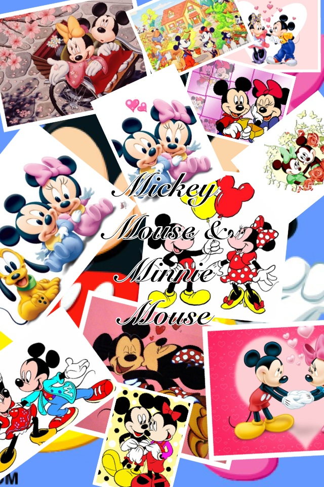 I love Mickey Mouse & Minnie mouse 3<