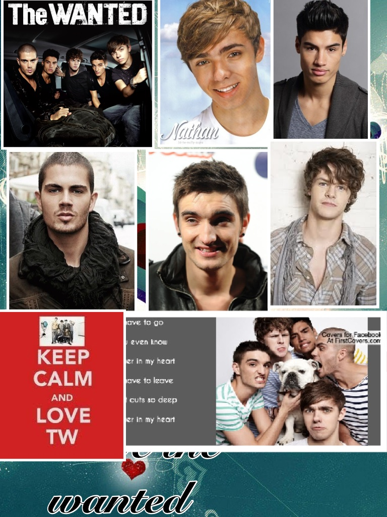 I love the wanted