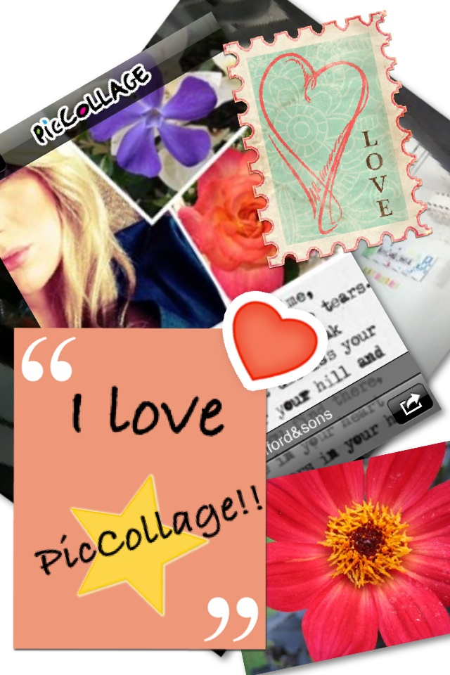I luv PicCollage!