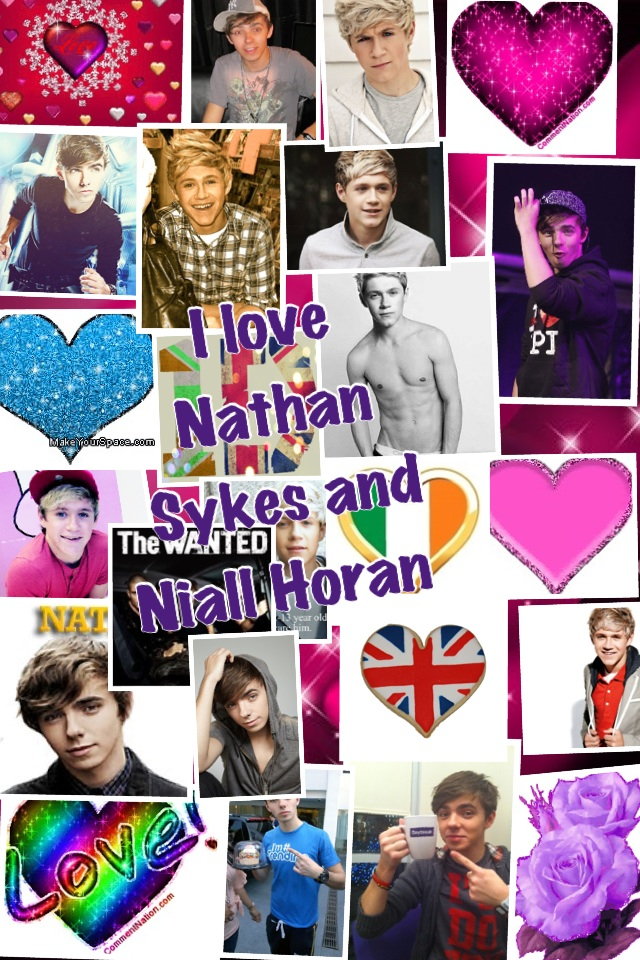 my two favourite boys Nathan and Niall :Dxxxxxxx