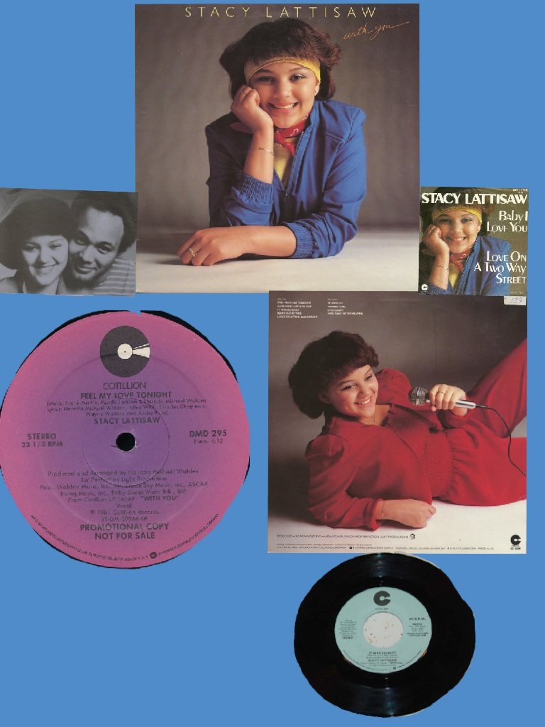 Stacy Lattisaw With You (1981)