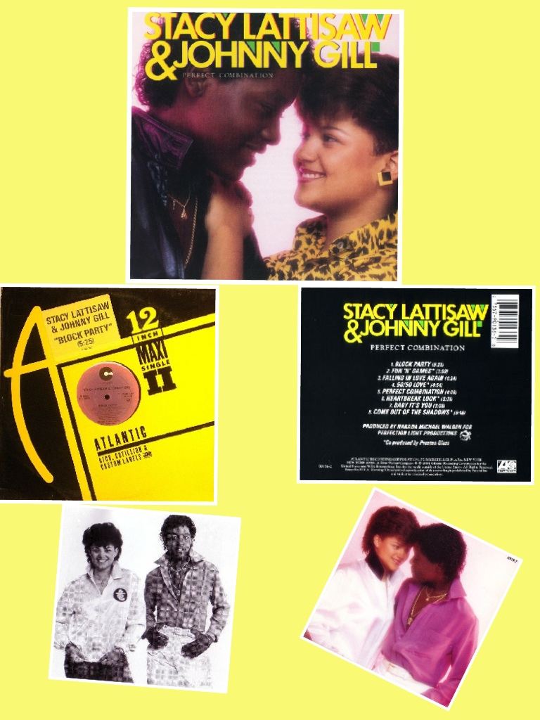 Stacy Lattisaw and Johnny Gill Perfect Combination (1984)