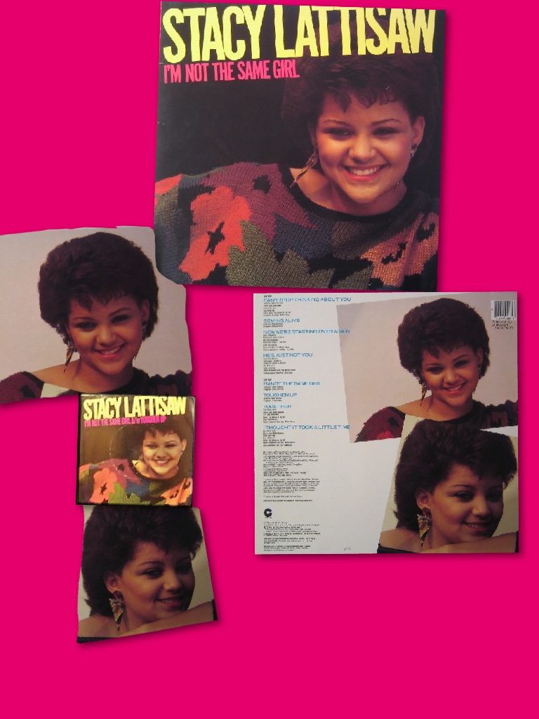 Stacy Lattisaw I'm Not the Same Girl (1985)