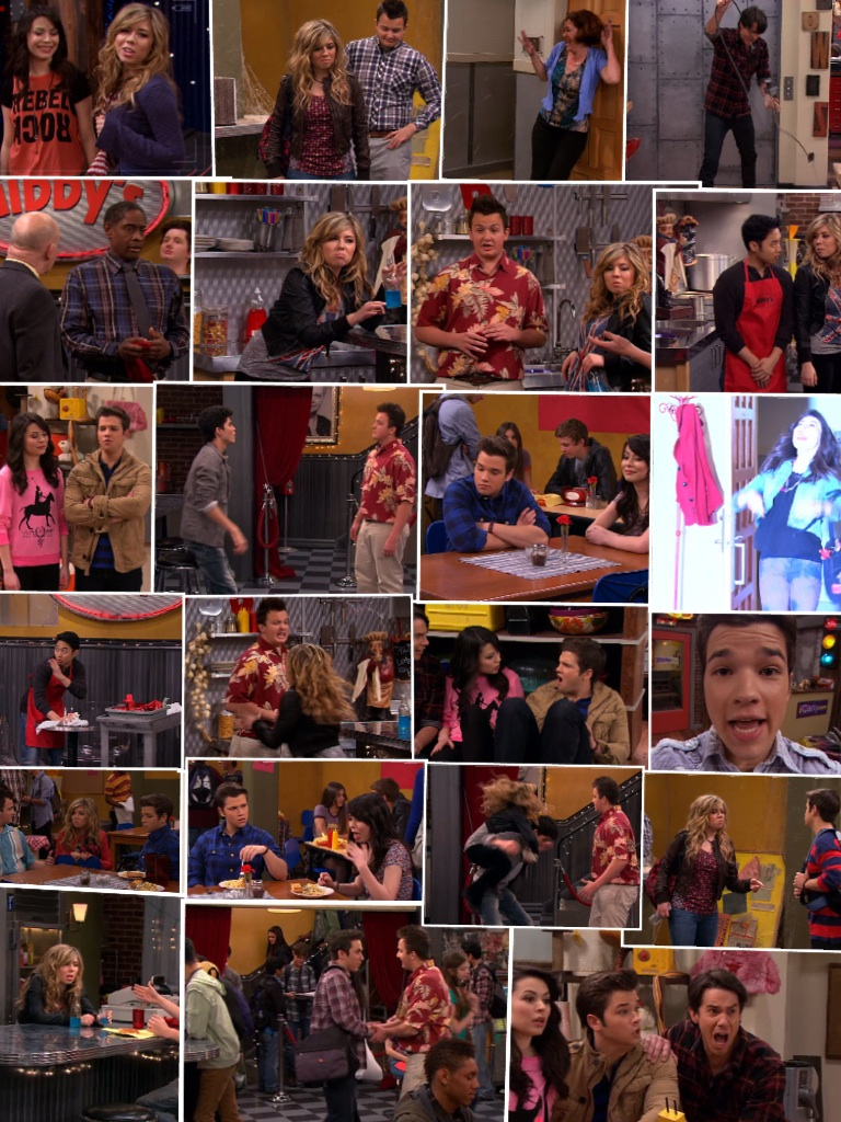 @jennettemccurdy Do you like my iCarly collage
