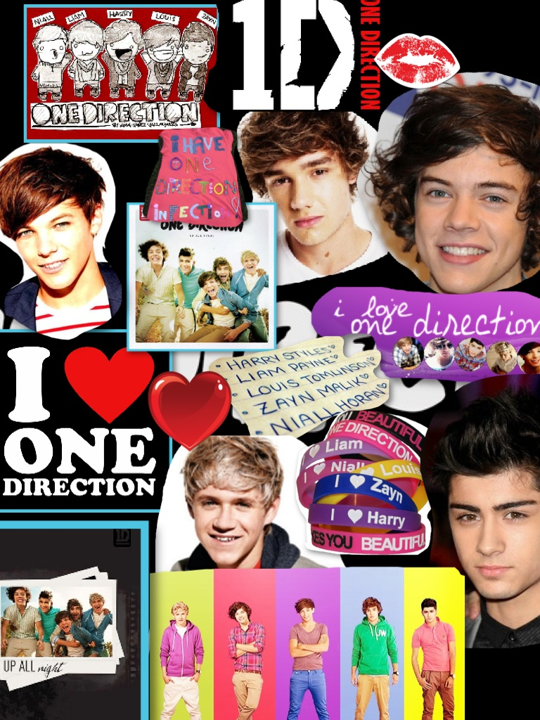 I am One Direction's BIGGEST FAN!!!!!!!!