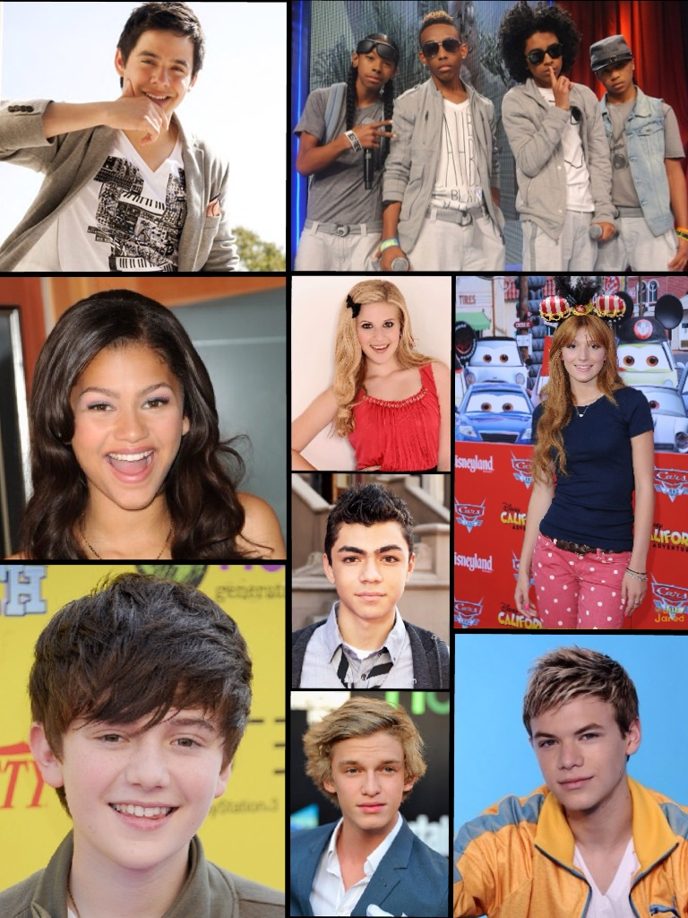 My Favorite Celebrities In A Collage 